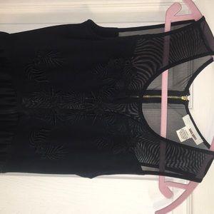 High-Low 3/4 length dress.